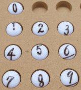 【抽選球 番号入り(手書き)】ガラポン抽選機 抽選機用抽選球
