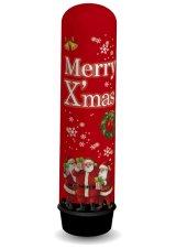 エア看板 Xmasプレゼントサンタレッドバルーン【受注生産】クリスマス【X'mas販促】