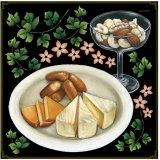 【チーズ盛り合わせ・ナッツ】デコレーションシール