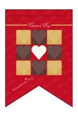 【Valentine's Day】ミニタペストリー