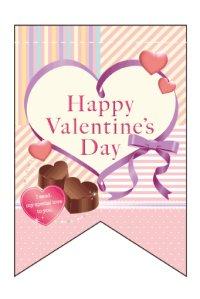 【Happy Valentine's Day】ミニタペストリー