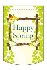 【Happy Spring】ミニタペストリー