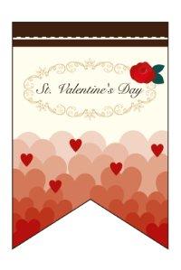 【St.Valentine's Day】ミニタペストリー