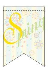 【Spring】ミニタペストリー