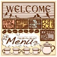 【WELCOME(6779)】デコレーションシール(受注生産品)
