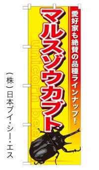 【マルスゾウカブト】のぼり旗