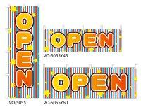 【OPEN】のぼり旗・横幕