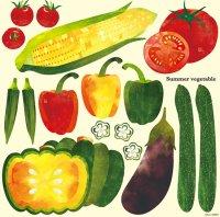 【Summer Vegetable】デコレーションシール
