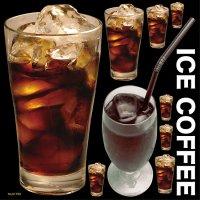 【アイスコーヒー】デコレーションシール