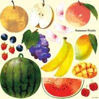 【Summer Fruits】デコレーションシール