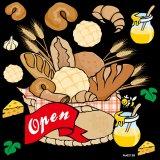 【パン open】デコレーションシール