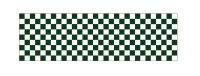 【市松模様/緑】ロール幕 W7,800×H900mm