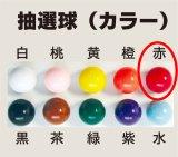 【抽選球 赤】ガラポン抽選器・ガラガラ抽選機用抽選球 抽選器の玉 抽選玉