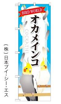 【オカメインコ】特価のぼり旗