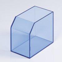 【レシート回収BOX クリアブルー】