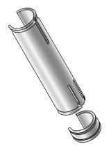【マキガード 25mmポール用】のぼり旗巻きつき防止、吹き上がり防止改善器具